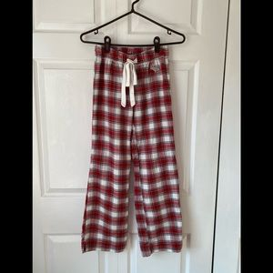 Abercrombie flannel pj pants